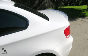Painted Trunk Lid Lip Spoiler for BMW E82/E88 1 Series