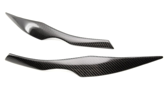 Carbon Fiber Eyebrows for BMW E90/E91 3 Series (Pre-LCI)