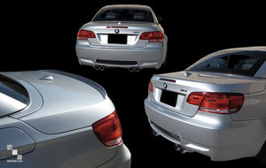 Painted Trunk Lid Lip Spoiler for BMW E93