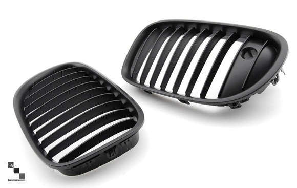 Black Kidney Grilles for BMW F01/F02/F04 7 Series