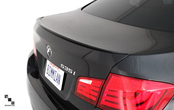 Painted Trunk Lid Lip Spoiler for BMW F10 5 Series