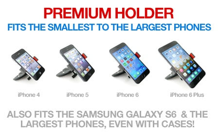 Premium CD Slot Phone Holder
