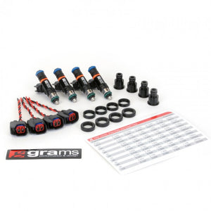 Grams Performance Fuel Injector Kits – 1000cc B, D, F, H (exc d17) injector kit