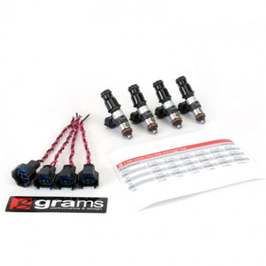 Grams Performance Fuel Injector Kits – 2200cc K Series (Civic, RSX, TSX), D17, 06+ S2000 injector kit