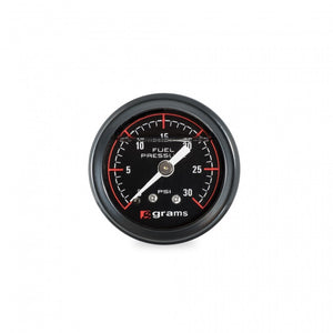 Grams Performance 0-30psi Fuel Presure Gauge