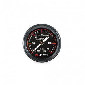 Grams Performance 0-120psi Fuel Pressure Gauge