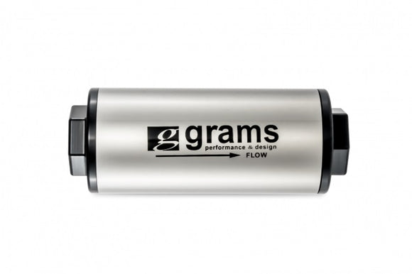 Grams Performance -6AN 20 Micron Fuel Filter