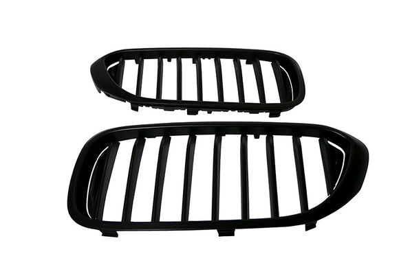Black Kidney Grilles for BMW G30 5 Series