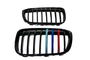 M-Color Slat Painted Grilles for BMW F48 X1
