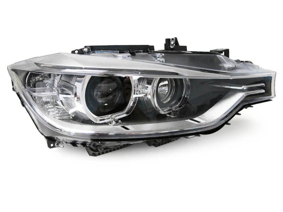 Projector Headlights With Halo Rings For Bmw F30/F31 3 Series (Pre-Lci)