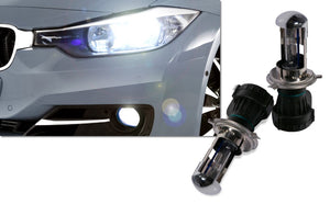Pair Of WeissLicht XenoFlo H4 Bulbs (Pair) - Compact HID Retrofit Kit