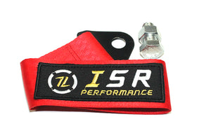 ISR Performance Universal Racing Tow Strap – Red