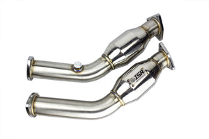 ISR Performance Stainless Steel Resonated Testpipe – Nissan 350z Z33