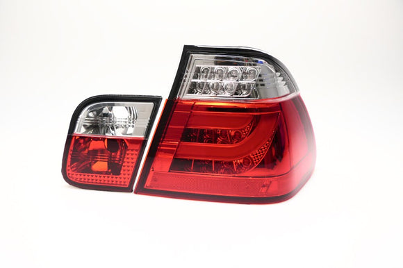 F30 Style LED Rear Lens Kit for BMW E46 3 Series Sedan (LCI)