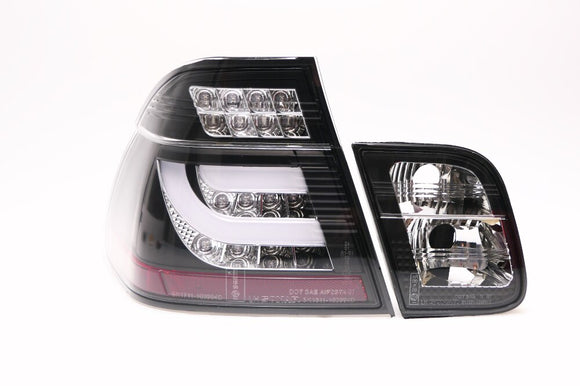 F30 Style LED Rear Lens Kit for BMW E46 3 Series Sedan (Pre-LCI)
