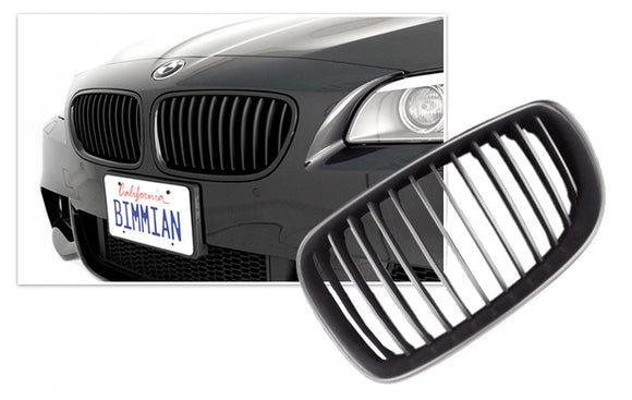Black Kidney Grilles for BMW F10 5 Series