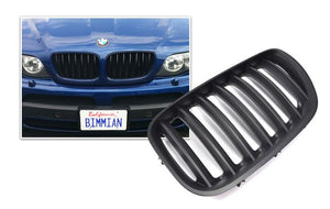 Black Kidney Grilles for BMW E53 X5 (Pre-LCI)