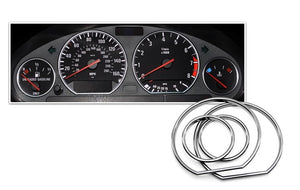 Gauge Rings for BMW E36/7/E36/8 Z3