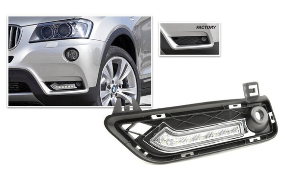 LED Daytime Running Lights for BMW F25 X3