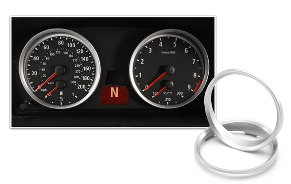 Gauge Rings for BMW E9X 3 Series