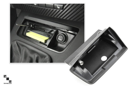 Ash Tray Storage Compartment for BMW E82/E88 1 Series