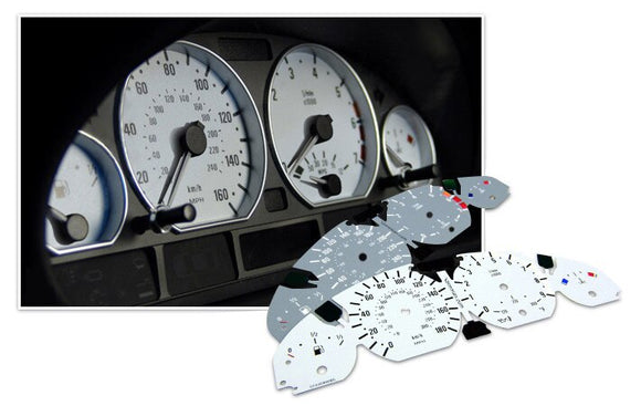 M3 Style Gauge Face for BMW E46 3 Series