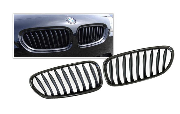 Carbon Fiber Front Kidney Grilles for BMW E85/E86 Z4