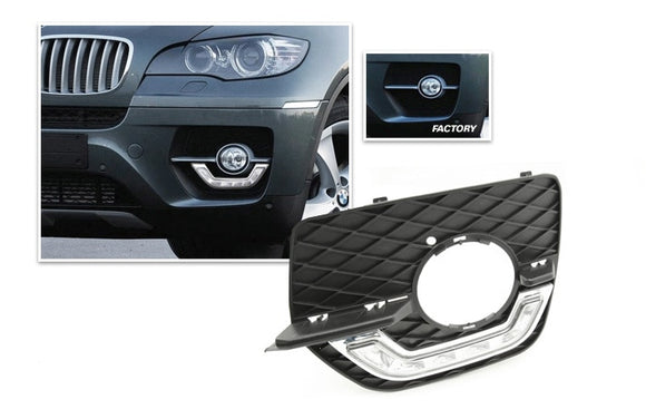 LED Daytime Running Lights for BMW E71 X6