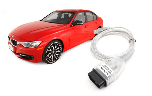 Inpa K and DCan Coding Cable for Ethernet OBDII systems for 2004 - 2008 BMWs