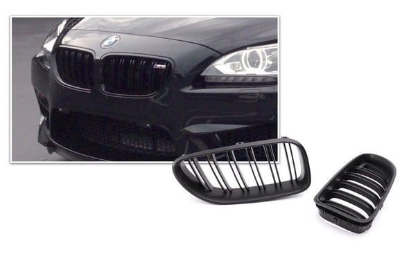 Black Kidney Grilles for BMW F06/F12/F13 6 Series