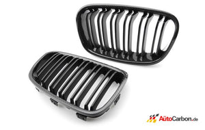 Carbon Fiber Front Kidney Grilles for BMW F22/F23/F87 2 Series & M2