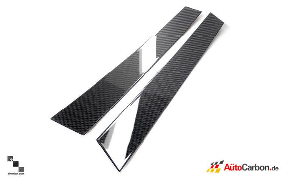 Carbon Fiber Pillar Trim for BMW F11 5 Series Touring
