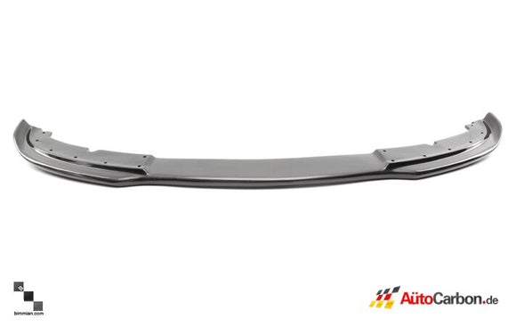 Carbon Fiber Front Lip for BMW E92/E93 3 Series (Pre-LCI Standard Bumper)
