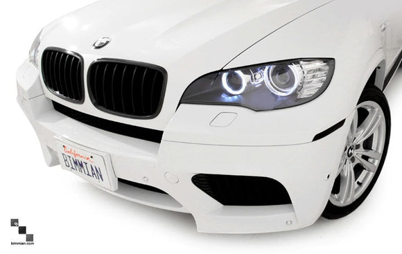 Black Kidney Grilles for BMW E70 X5, E71 X6