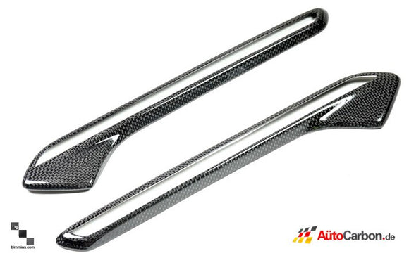 Carbon Fiber Side Grilles for BMW E71 X6