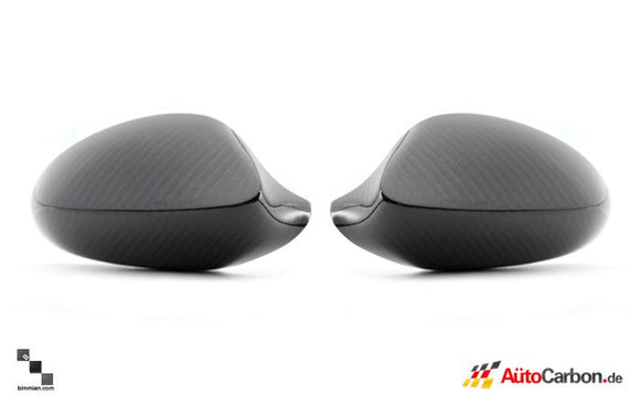 Carbon Fiber Mirror Covers for BMW E92/E93 3 Series (Pre-LCI)