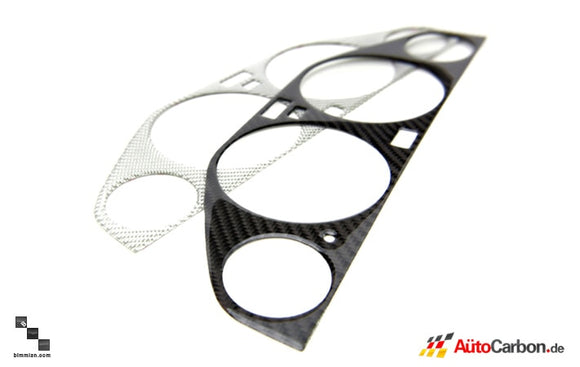 Carbon Fiber Cluster Trim for BMW E30 3 Series
