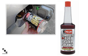 Synthetic Fuel System Cleaner Syringe