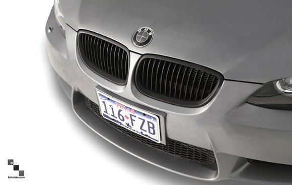 Black Kidney Grilles for BMW E92/E93 3 Series (Pre-LCI)
