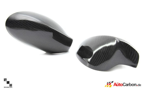 Carbon Fiber Mirror Covers for BMW E8X 1 Series (Pre-LCI)