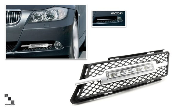 LED Daytime Running Lights for BMW E90/E91 3 Series (Pre-LCI)