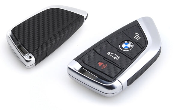 Carbon Fiber Key Fob Skins for BMW F15 X5, F16 X6