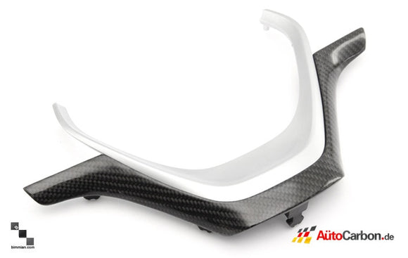Carbon Fiber Steering Wheel Trim for BMW F20 1 Series, F30 3 Series, F32 4 Series Sport Wheel