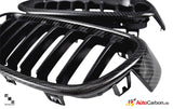 Carbon Fiber Front Kidney Grilles for BMW F30/F31 3 Series