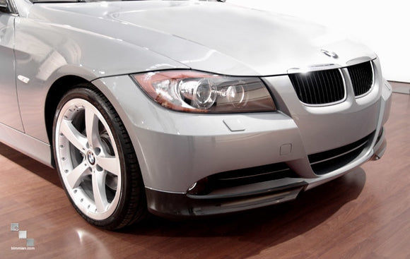 Carbon Fiber Front Bumper Splitters / Flippers for BMW E90/E91 3 Series (Pre-LCI)