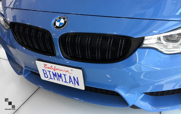 Black Kidney Grilles for BMW F32 4 Series