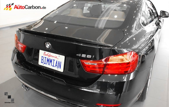 Carbon Fiber Trunk Lip Spoiler for BMW F32 4 Series