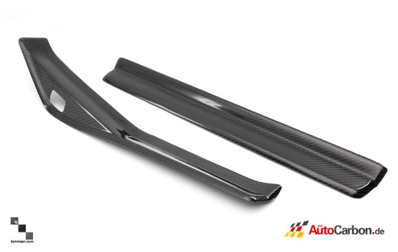 Carbon Fiber Door Sils Kit for BMW E46 3 Series Coupe