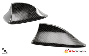 "7.5"" Carbon Fiber Shark Fin Cover for BMW E82 1 Series, E9X 3 Series"