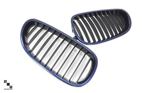 Black Kidney Grilles for BMW E60 5 Series
